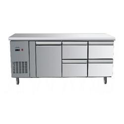 欧款1门4抽屉平条冷冻冰箱