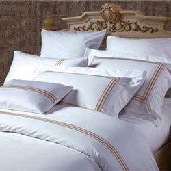 蓝天白云--金色  酒店床上用品