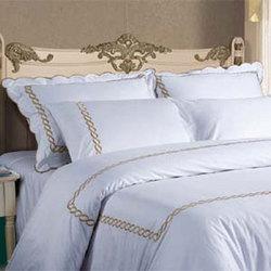花瓣款--金色  酒店床上用品