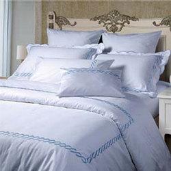 花瓣款--蓝色  酒店床上用品