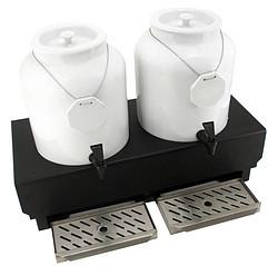 牛奶罐整套-双头(牛奶罐+底座+保温+蓄冷)