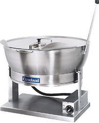 SET15,15加仑电热型平底抄锅、倾斜锅-炒炉