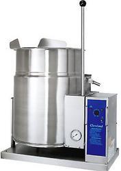 KGT-T,燃气夹层汤锅(6加仑及12加仑容量),可斜式桌上型-不锈钢炉具
