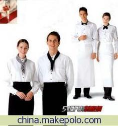 星级酒店服装,厂服,商场职业装,校服设计