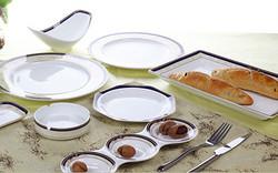 彩瓷-成套餐具