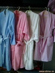 酒店纯棉华夫格浴袍