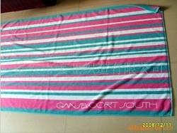 素色沙滩巾