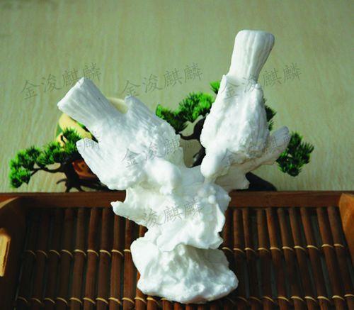 觅食(枝头鸟)-盐雕冰雕