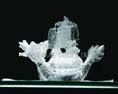 赛龙舟-盐雕冰雕