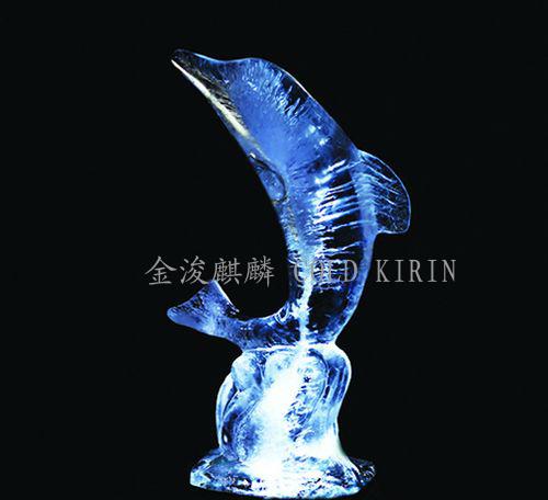 小海豚-盐雕冰雕