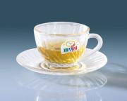 罗纹花茶杯