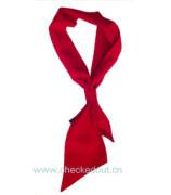 大红色领巾