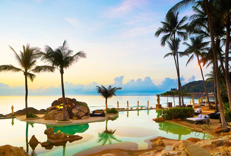 泰国苏梅岛喜来登度假酒店:暑期度假享受的理想去处