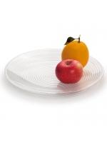 圆形圈纹果盘