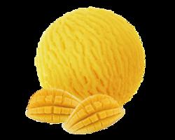 冰激凌:芒果