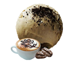冰激凌:卡布奇诺