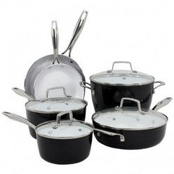 Oneida 10pc Forged Aluminum Induction Cookware
