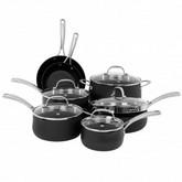 Oneida 12pc Hard Anodized Aluminum Cookware