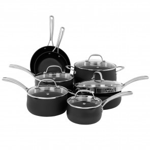 Oneida 12pc Hard Anodized Aluminum Cookware