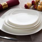 金方H方纯色陶瓷盘