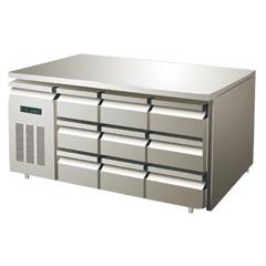 星级型抽屉式工作台冷柜