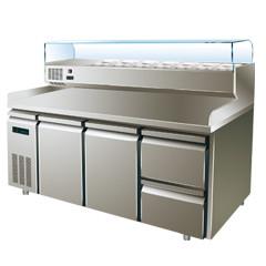 星级型工作台匹萨冷柜