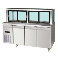 星级型工作台沙律冷柜