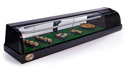 圆弧型寿司柜