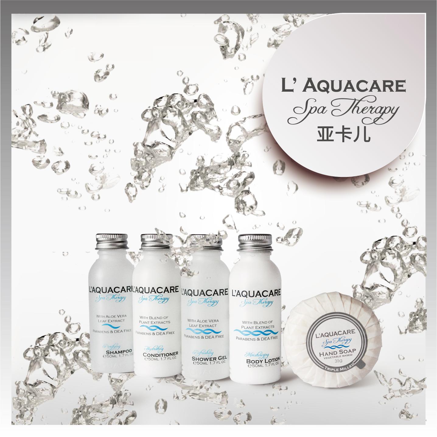 L'Aquacare亚卡尔品牌洗发沐浴套装