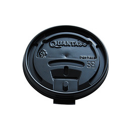 热杯杯盖-黑色平盖-80