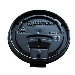 热杯杯盖-黑色平盖-90