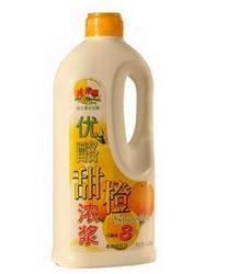 优酪甜橙浓浆乳酸菌饮料