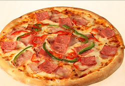 培根pizza