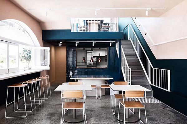 """""""外刚内柔"""" 看墨尔本这家咖啡店的室内设计"""