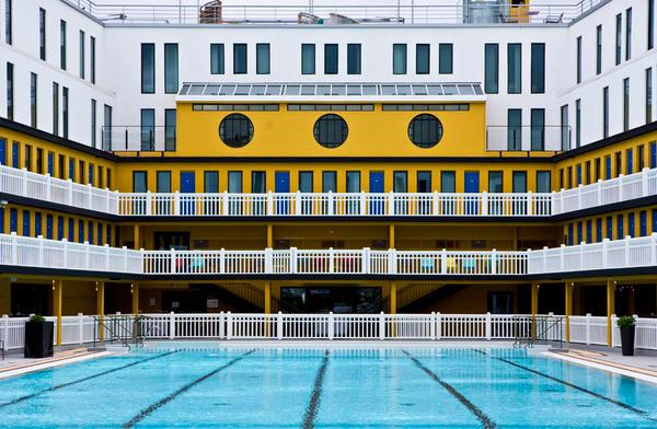 巴黎Piscine Molitor泳池变身精品酒店 堪称最潮