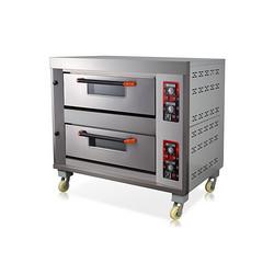两层四盘燃气烤箱