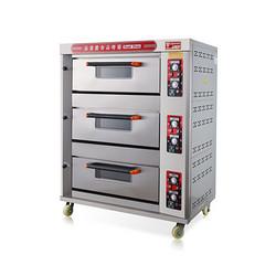 三层六盘燃气烤箱