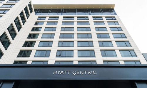 Hyatt Centri:计划后年年底前投资组合增加近一倍。