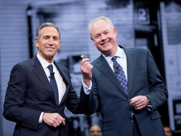 """新任CEO展望星巴克未来发展 表明""""与 Schultz 并肩战斗"""""""
