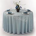 蓝色婚礼桌布台布