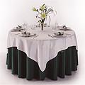 绿色婚礼桌布台布