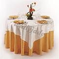 金色婚礼桌布台布
