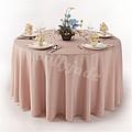 粉色婚礼桌布台布