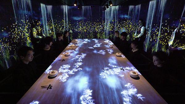 """一家东京餐厅打出了""""感官餐厅""""的招牌 还挺好玩的"""