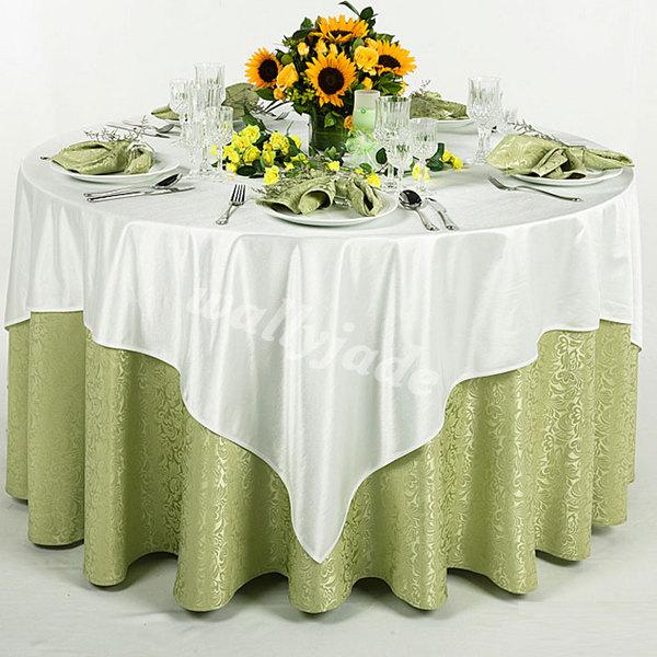 草坪婚礼桌布台布