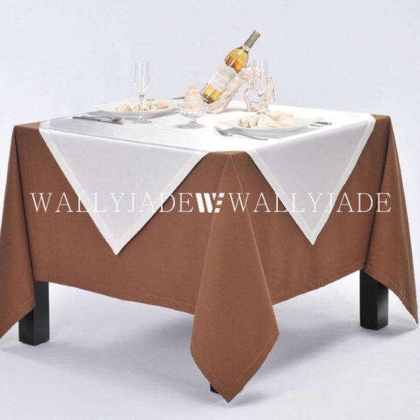 酒店方桌桌布台布