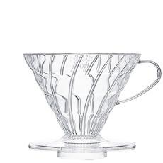 HARIO日本进口 V60耐热玻璃树脂手冲咖啡滤杯
