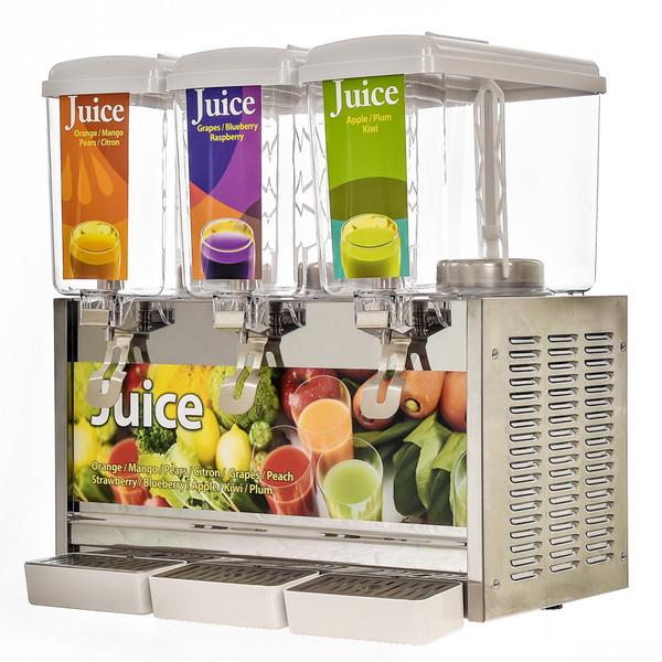 3缸果汁机
