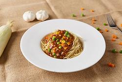 意式风味黑椒牛肉面Spaghetti with Beef in Black Pepper Sauce