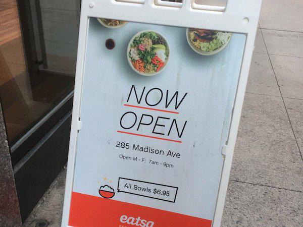 自动化快餐连锁店Eatsa: 每碗食物只需6.95美元